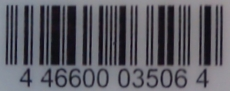My QFC grocery card barcode is 4 46600 03506 4.